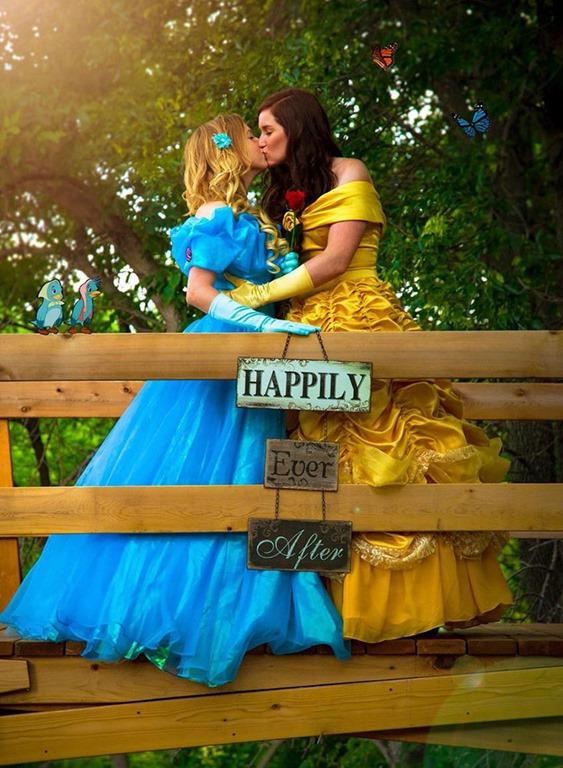 「花嫁」の隣にいるのも「花嫁」?ある同性愛者カップルの結婚式が女子の理想すぎる