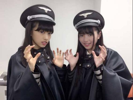 欅坂46のコンサートでの衣装が物議を呼んでいます。