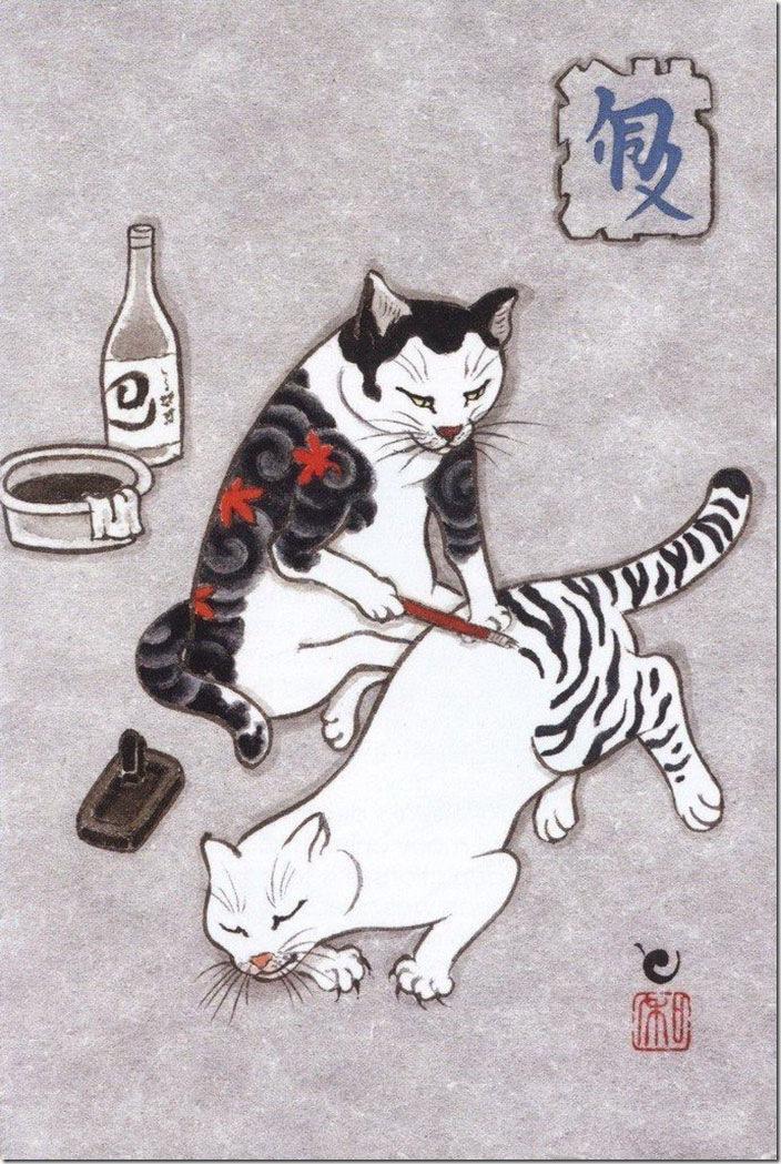 猫タトゥー①