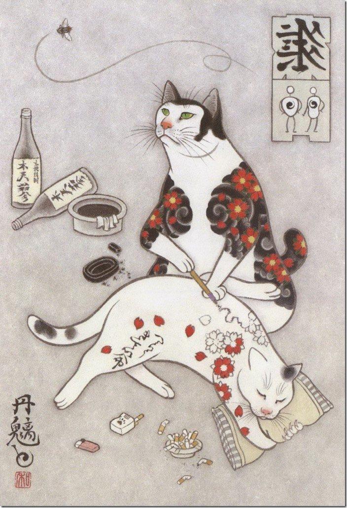 猫タトゥー②