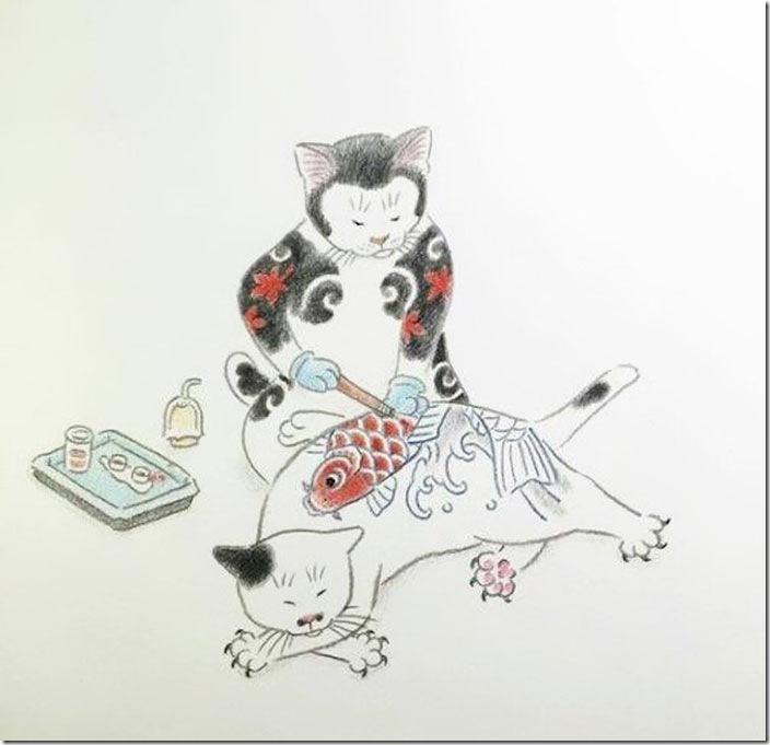 猫タトゥー③