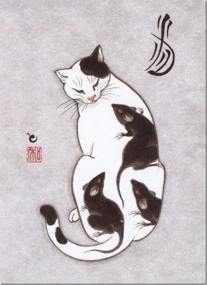 猫タトゥー④