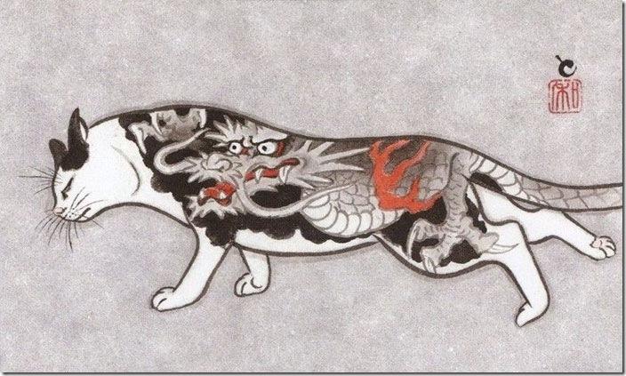 猫タトゥー⑤