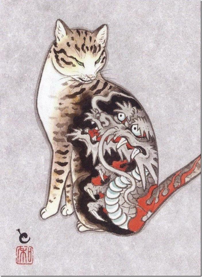 猫タトゥー⑦
