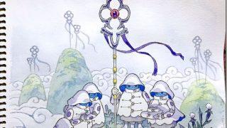 【画像あり】東京在住の外人アニメーター、息子の落書きをアートにまで昇華させてしまう…